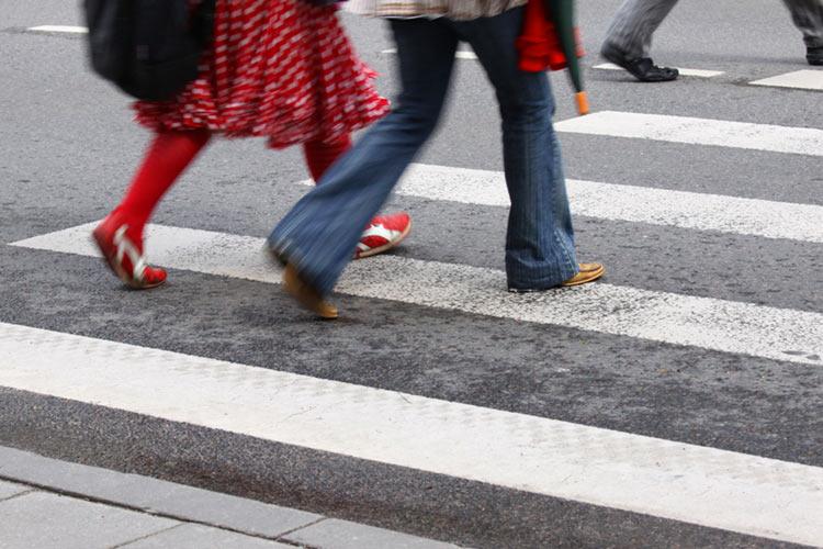 Пешеходы под контролем!
