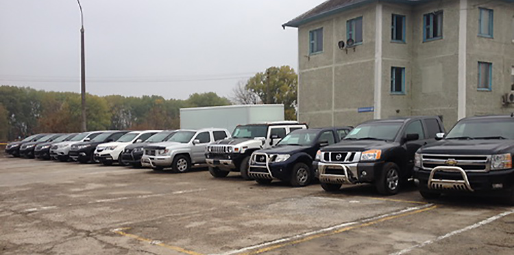 В столице конфисковали 28 готовых к продаже автомобилей