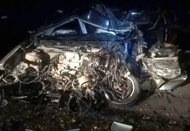 На М8 Volkswagen в результате ДТП стал грудой металла, водитель погиб