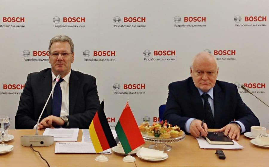 Герхард Пфайфер о работе Bosch в Беларуси