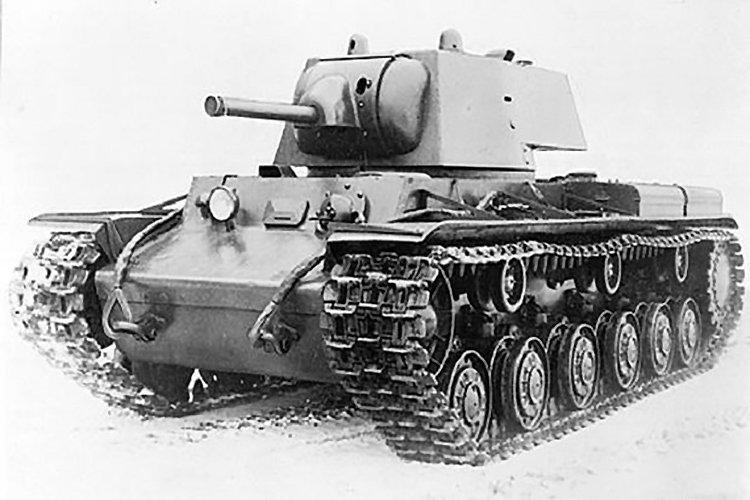 В Витебской области найден уникальный тяжелый танк КВ-1