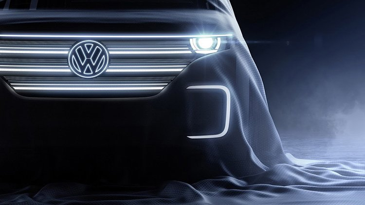 Volkswagen опубликовал тизер нового концепт-кара
