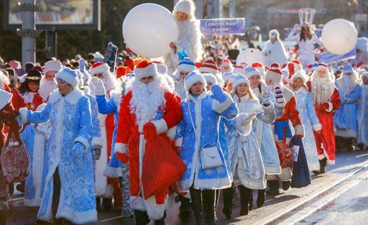 25 декабря центральные улицы Минска будут перекрыты