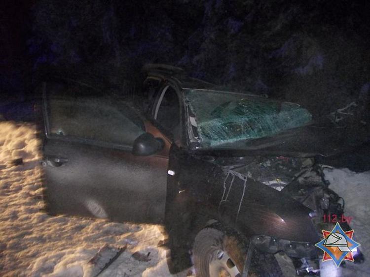 В Оршанском районе Рено столкнулся с двумя встречными авто, водитель погиб