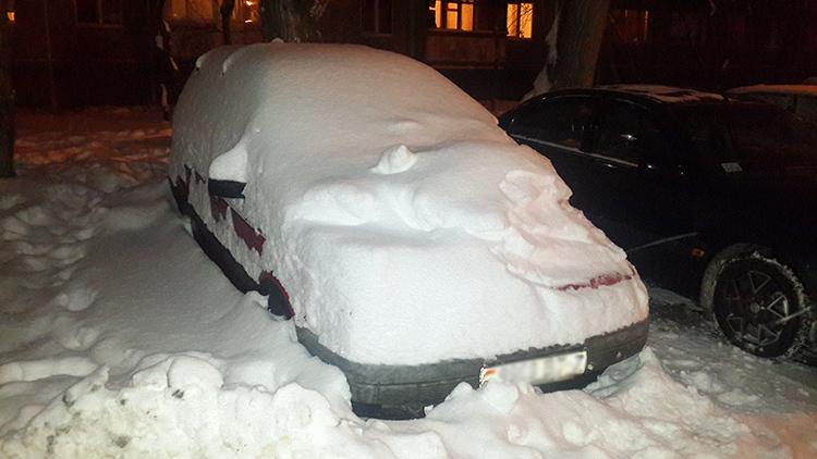 За неубранный вокруг своей машины снег хотят ввести ответственность