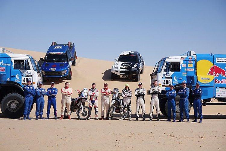 Африка Эко Рейс 2016: VEB Racing в топ-3 на песчаном мавританском этапе!