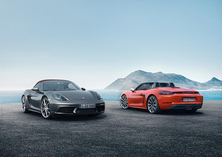 Новый Porsche Boxster перешел на четырехцилиндровые моторы