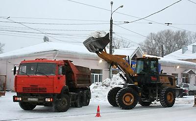 График по уборке и вывозу снега с улично-дорожной сети