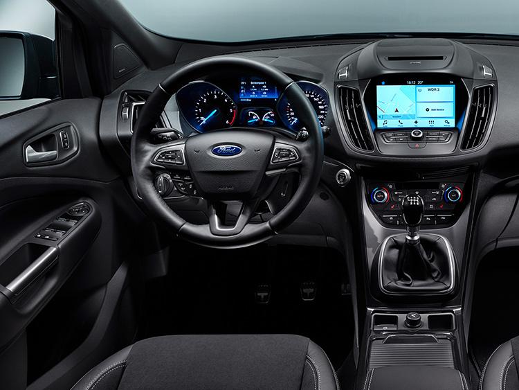 Ford Kuga подвергся «перезагрузке»
