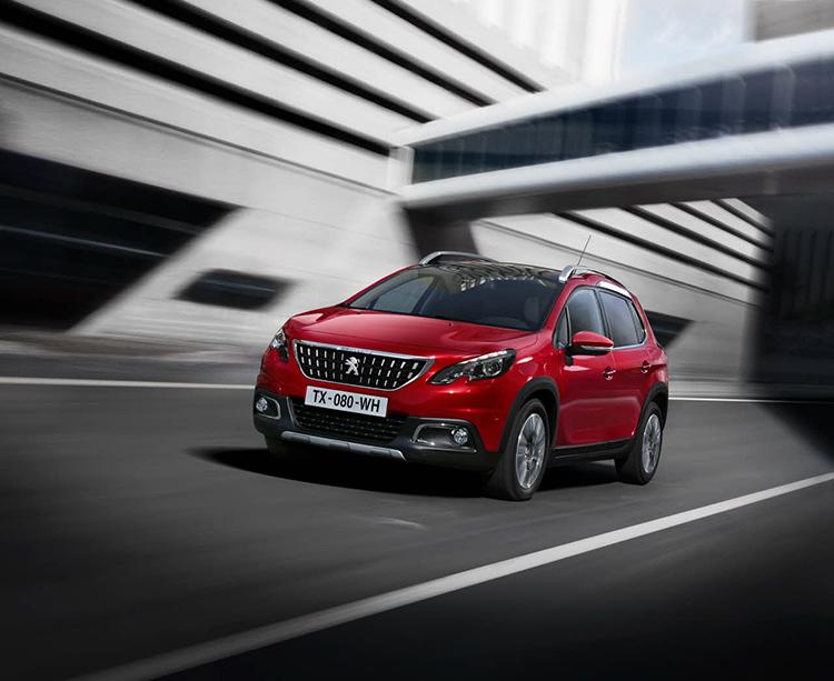 Peugeot 2008 получил новый фейс