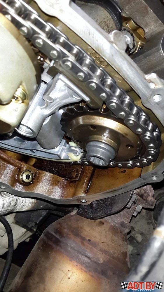 Стоит ли менять все цепи в моторах Ауди?
