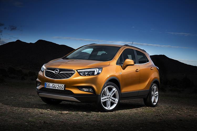 Opel освежил «Мокку»