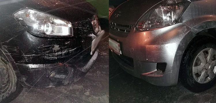 Лобовое столкновение на Одинцова: один из водителей сбежал с места ДТП