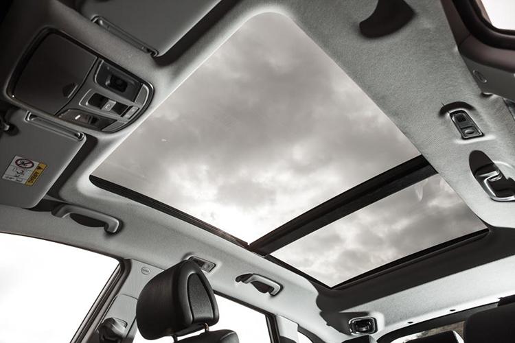 Зимний антидепрессант— Hyundai Tucson с панорамным люком