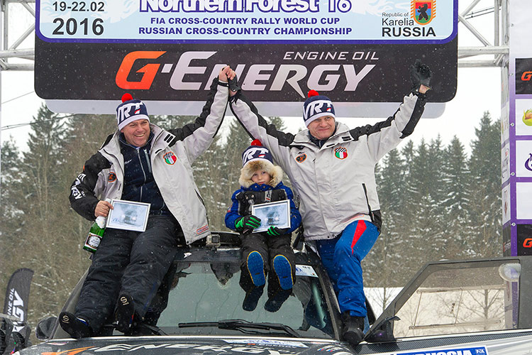 """G-Energy Team - на подиуме бахи """"Россия - Северный лес 2016"""""""