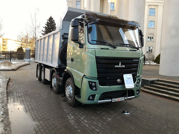 Новый МАЗ поколения ЕВРО-6