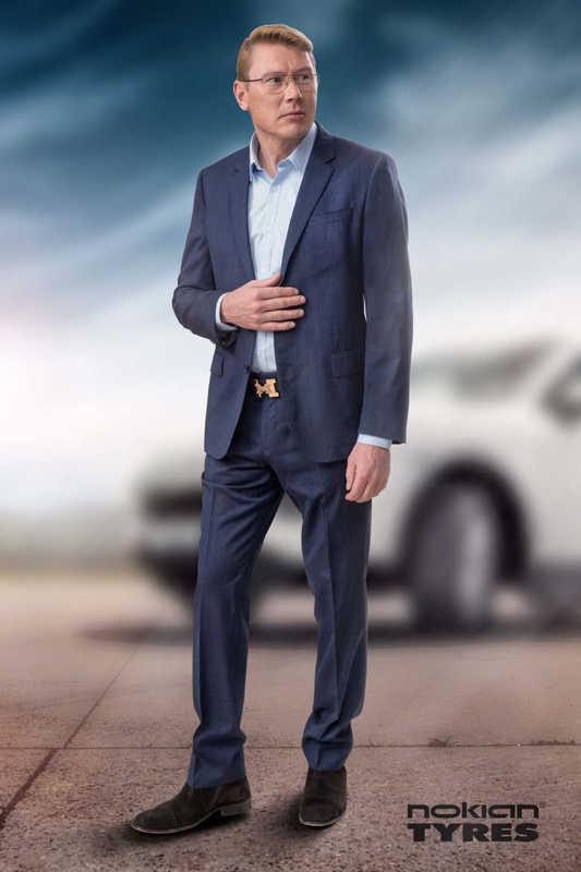 Мика Хаккинен стал бренд-амбассадором Nokian Tyres