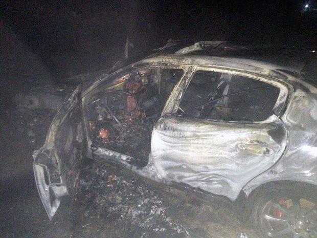 На М1 Maserati сбила пешехода и сгорела, а пострадавший пропал