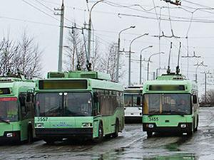 Временное закрытие троллейбусного движения по улице Ангарской