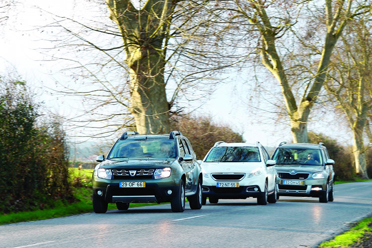 Dacia Duster, Peugeot 2008 и Skoda Yeti: проходимцы каменных джунглей