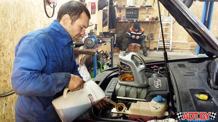 Замена генератора в автомобиле