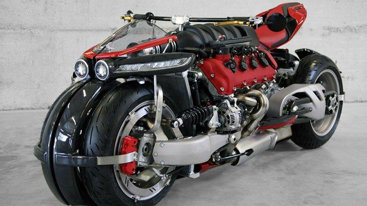 Lazareth представила мотоцикл LM847, построенный вокруг двигателя от Maserati