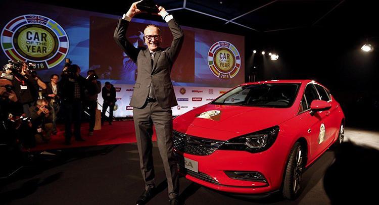 "Opel Astra стал ""Автомобилем года 2016"""