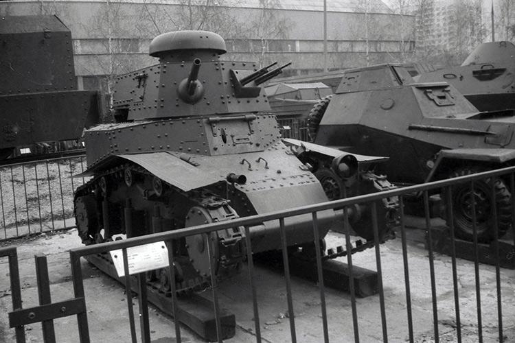МС-1 в музее Российской армии в Москве