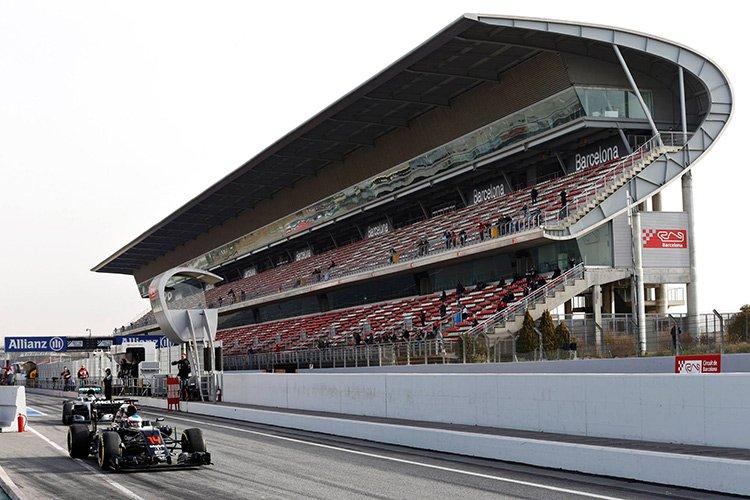 """Новости """"Формулы-1"""". Тесты в Барселоне: демонстрация надежности"""