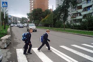 ГАИ призывает к повышенному вниманию водителей во время школьных каникул