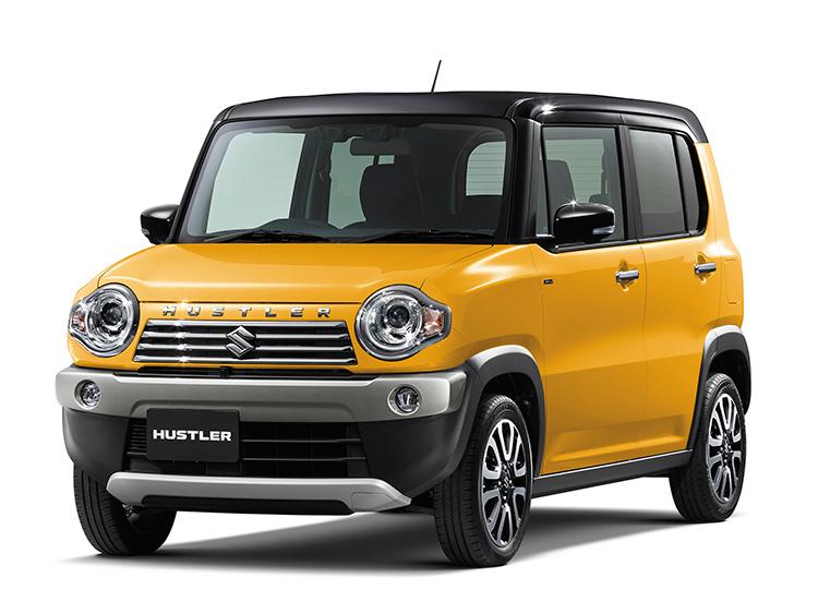 Suzuki Hustler возглавил японский рейтинг безопасности JNCAP