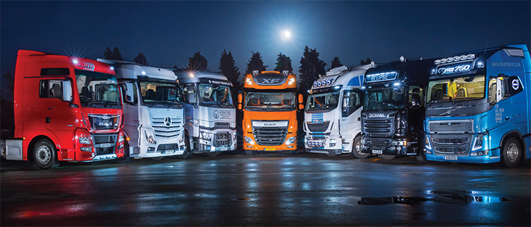 Семь сестер, грузовики
