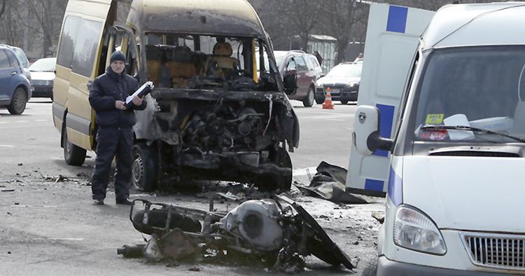 В Минске лоб в лоб столкнулись маршрутка и мотоцикл: два человека погибли