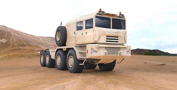 МЗКТ создал автопоезд для вооруженных сил ОАЭ