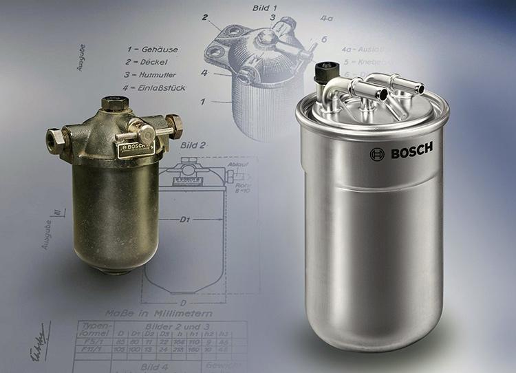 Топливные фильтры Bosch ─ более 85 лет бесперебойной работы двигателей