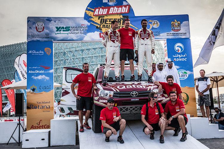 Финал ралли-рейда Abu Dhabi Desert Challenge 2016
