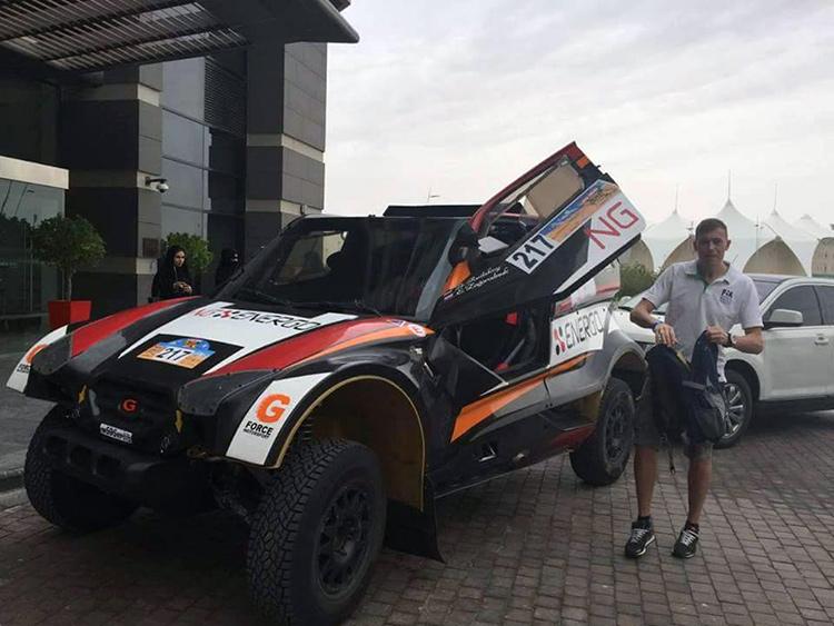 Евгений Загороднюк, штурман, Авто, New Generation Racing Team