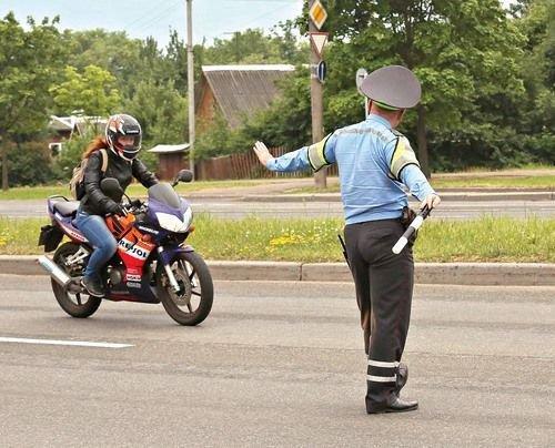 ГАИ Минска стремится найти взаимопонимание с мотоциклистами