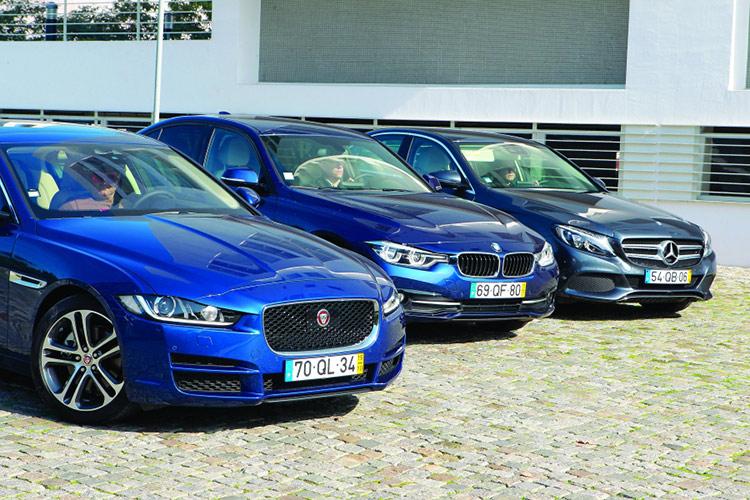 Jaguar XE vs BMW 3-серии и Mercedes-Benz С-класса: британская гордость против немецкого порядка