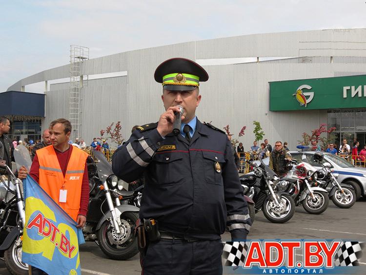 От лица ГАИ Солигорска была высказана благодарность организаторам чемпионата за вклад в повышение безопасности дорожного движения