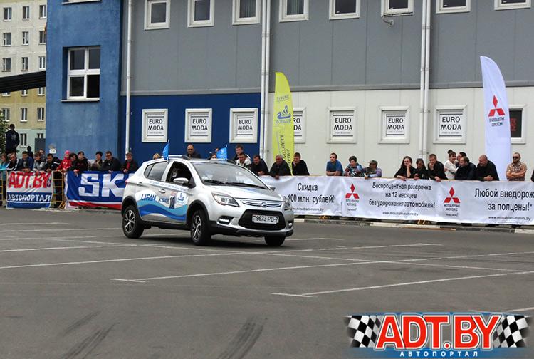 Александр Цыганков выступал на автомобиле Lifan X50