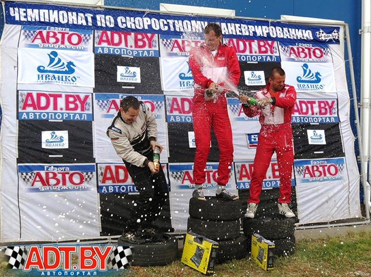 Реванш на этапе чемпионата в Солигорске