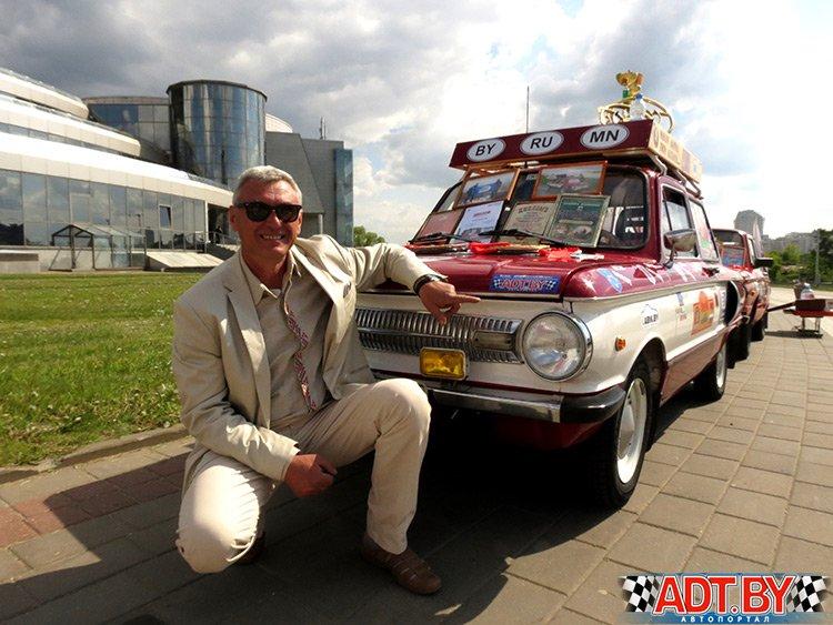 Белорусский экипаж дебютирует в олдтаймер ралли «Пекин – Париж»
