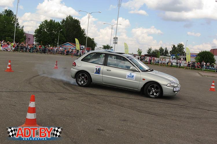 Чемпионат Беларуси – 2016 по скоростному маневрированию, 3-ий этап, Молодечно