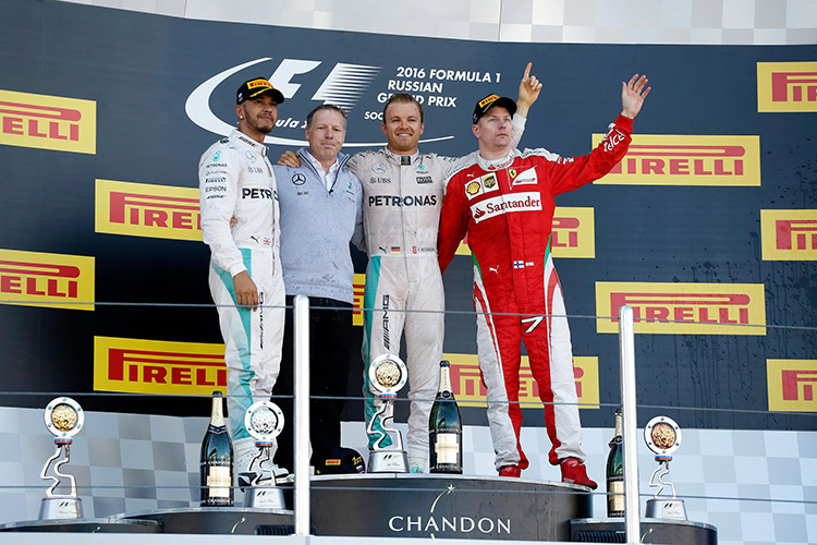 «Формула-1». Гран-при России. Двойной удар