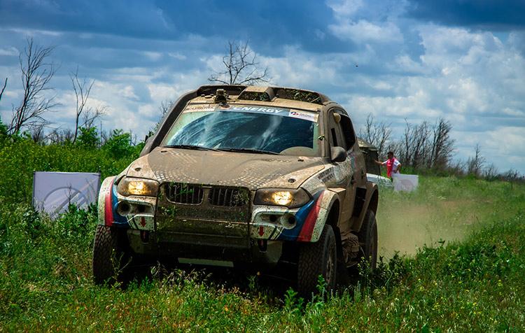 Владимир Васильев - безапелляционная победа на ралли-рейде в Волгограде