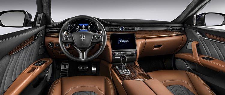 Maserati Quattroporte деликатно обновился