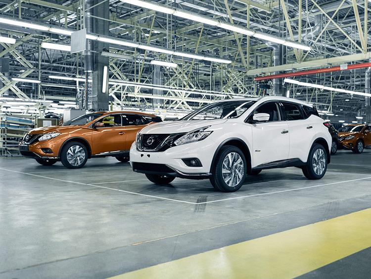 Nissan Murano получил клеймо made in Russia