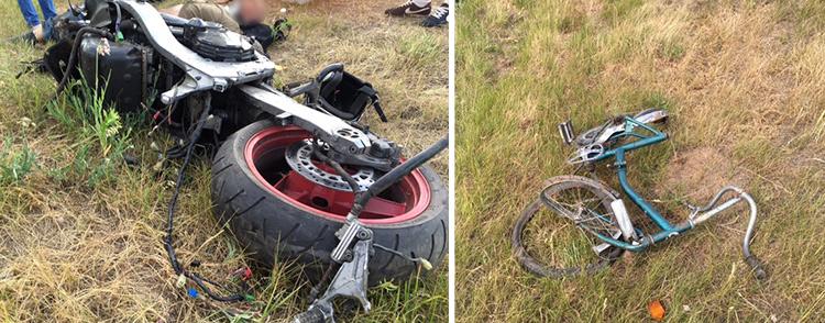 В Минском районе мотоциклист насмерть сбил 14-летнюю девочку