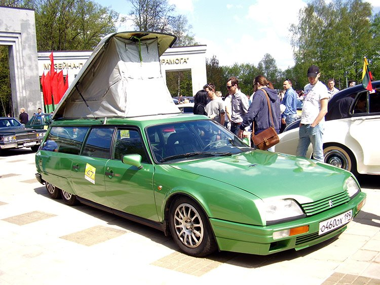 """Крокодил"" Citroen CX Six-Wheeeler"